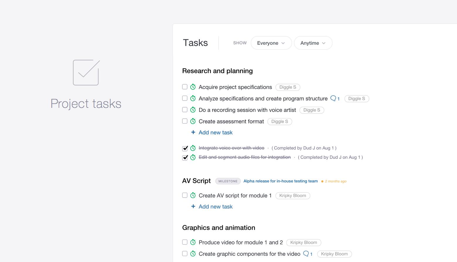 pm-tasks