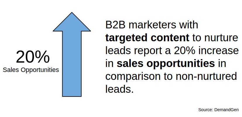 targeted content for lead generation