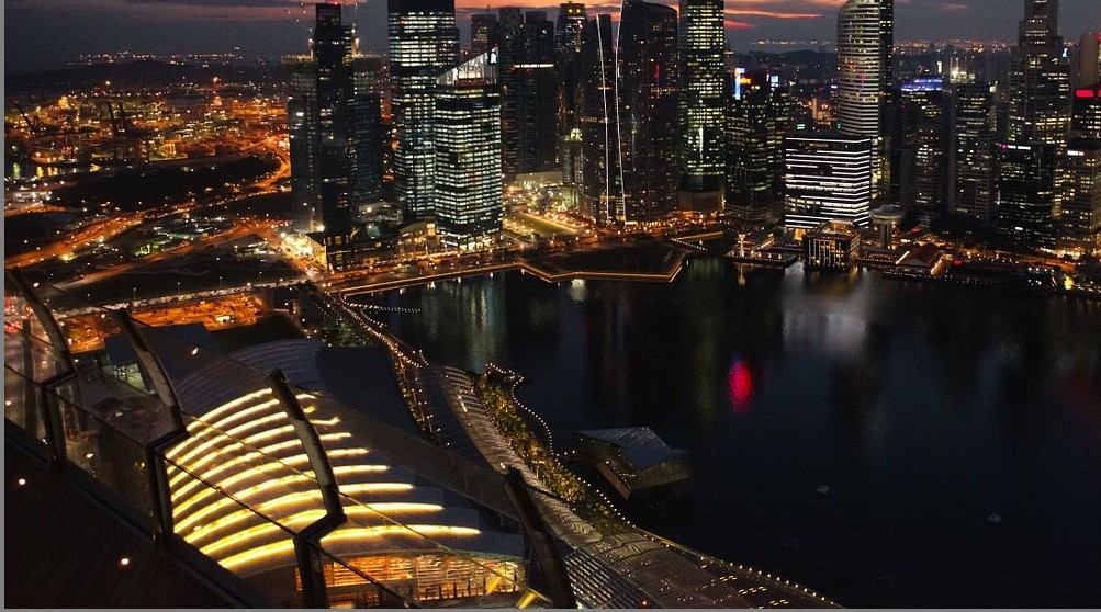 Singapore City Night