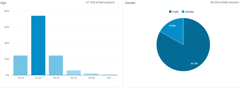 age gender google analytics