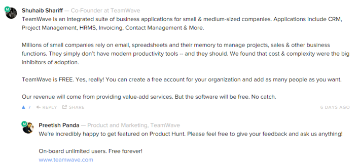 Product Hunt Introduction and Ask-Me-Anything