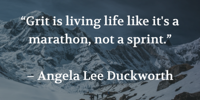 Grit Angela Lee Duckworth