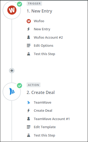 TeamWave Zapier Integration
