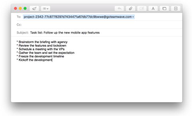 email-tasklist